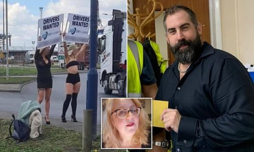 Brexit: Lorry boss 'resorts to using scantily-clad women for job ads'