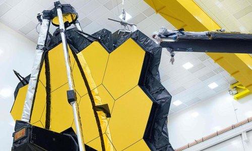 NASA's James Webb Space Telescope unfolds its giant mirror