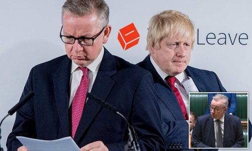 Michael Gove admits double-crossing Boris Johnson to run for PM