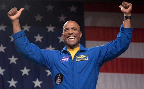 History-making Ingenuity cheered by outer-space 'neighbor,' astronaut Victor Glover