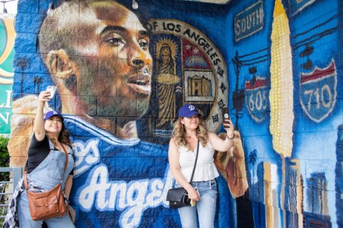 Downey dustup over mural is short-lived; public art of Kobe Bryant and Nipsey Hussle will remain