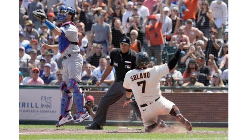 Dodgers go quietly in loss to Giants, fall farther back in NL West