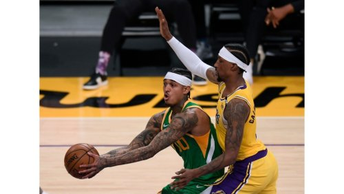 NBA-leading Jazz outclass Lakers in rematch