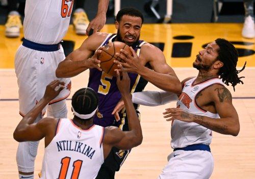 Talen Horton-Tucker hits game-winner as Lakers top Knicks in OT
