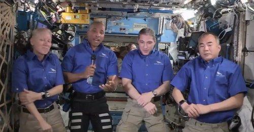 Astronauts prepare for Saturday splashdown after 6-month space station mission