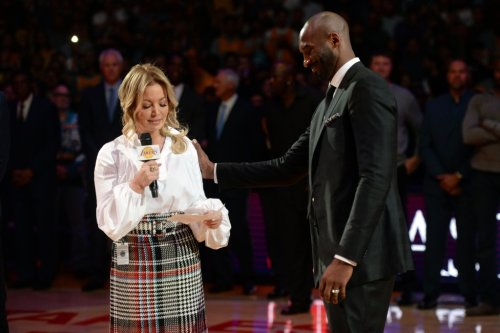 As Kobe Bryant is enshrined, Lakers owner Jeanie Buss grapples with 'bittersweet' grief