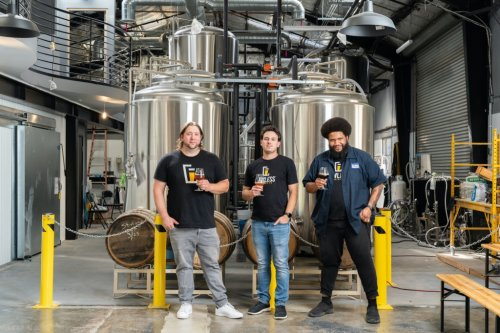 Hollywood producers ready for their premiere in the brewery business