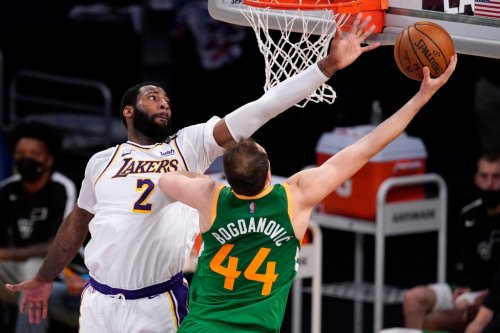 Andre Drummond comes up big for Lakers against undersized Utah