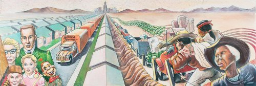 George Lucas's new LA museum couldn't let this 'monumental' San Fernando Valley mural pass it by