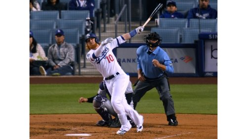 Nacho man Justin Turner leads Dodgers to another victory over Rockies