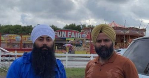 Man left 'embarrassed' after being handcuffed and kicked out of North Wales funfair over Sikh blade