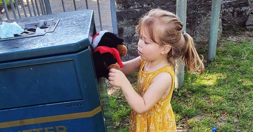Heart-wrenching moment girl bins favourite toy smashed by yobs - and her joy at what happened next