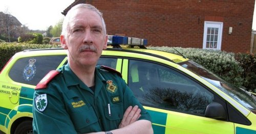North Wales paramedic on the 'tidal wave' of pressure facing ambulance crews