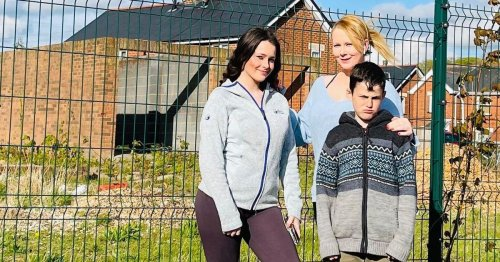 Why mum-of-five will finally get neighbours - 10 years after moving into North Wales housing estate