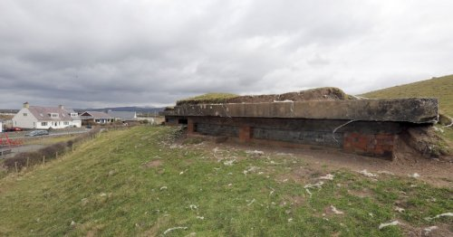 The Second World War bunker hidden just yards away from a popular North Wales beach