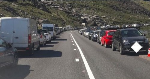 Snowdonia drivers urged to 'act responsibly' as Wales travel ban eased