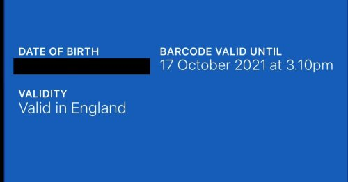 Concern as Wales NHS Covid Pass says it is only 'valid in England'