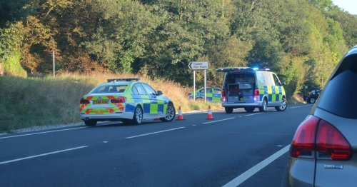 Woman airlifted to Stoke following serious A470 crash that left three more hurt