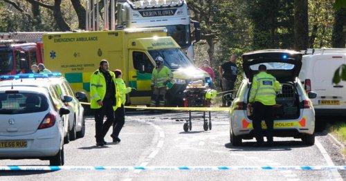 Taxi driver dies and two fighting for their lives after crash