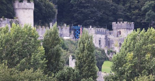 I'm A Celebrity preparations underway at Gwrych Castle as latest pictures show