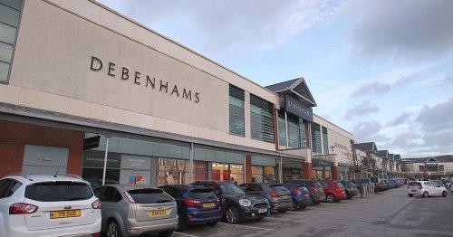 Debenhams names closing dates for North Wales stores