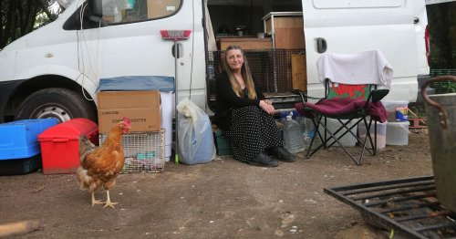 Ankle injury caused by gust of wind led to terminally ill woman living in a van