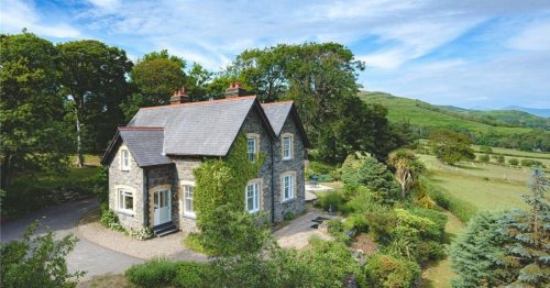 Inside the secluded Victorian period house that's nestled in a small Snowdonia wood