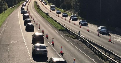 Misery for A483 drivers as roadworks end date delayed due to 'unforeseen' issues