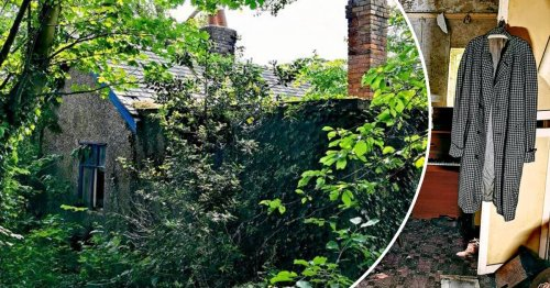 'Grandad's abandoned house' left untouched for years is frozen in time