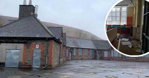 Poignant pictures of disused Welsh school as it goes up for auction for £300,000