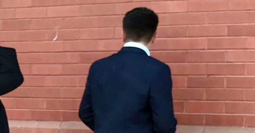 Teen stripped naked and spat at police officer during his 18th birthday party
