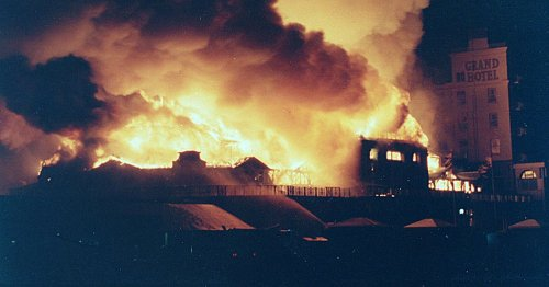 Glory days of Llandudno icon - and how it was lost in minutes to blazing inferno