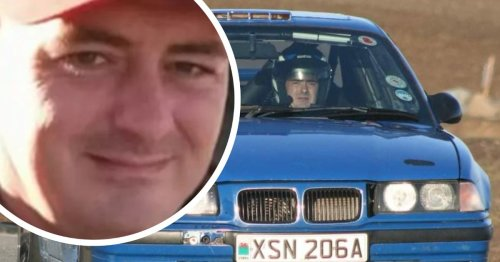 Dad killed in crash suffered 'heart attack' driving to hospital with chest pains