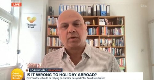 Thomas Cook boss on why he wouldn't holiday in Wales during GMB travel debate
