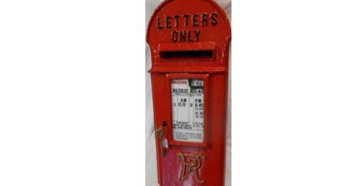 Snowdonia village's Victorian letterbox and classic railway sign up for auction