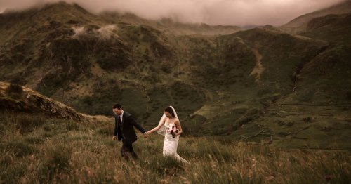 Bizarre Covid 'elopement wedding' craze secretly taking place all over Snowdonia