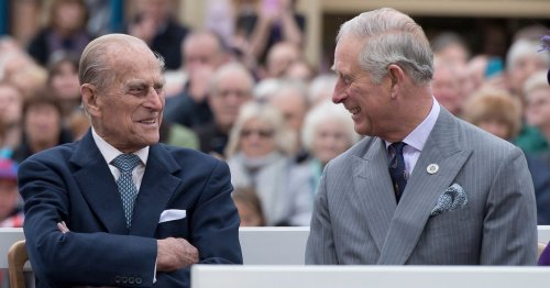 Prince Charles and Prince William hail Prince Philip as a 'silly games' expert