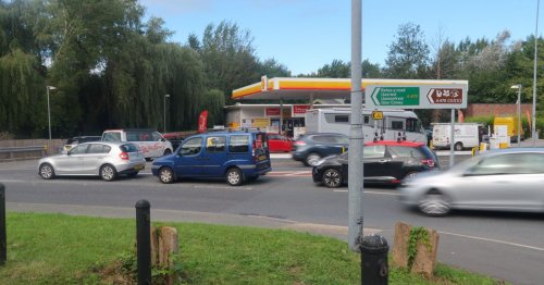 Half of petrol stations report being out of fuel as panic-buying continues