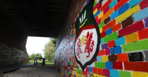 Mystery Wrexham AFC and Deadpool mural appears in tribute to Hollywood owners
