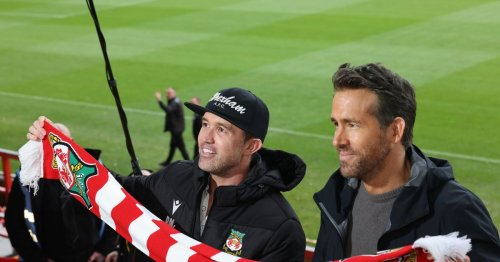 29 pictures of Ryan Reynolds and Rob McElhenney's second day in Wrexham