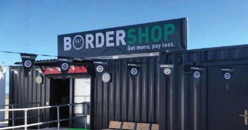 'World's smallest' duty free border store opens in a shipping container in Holyhead