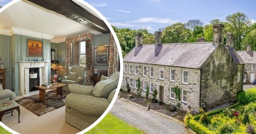 Inside the 17th century country estate with stunning views of Snowdonia