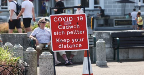 Covid figures for all North Wales districts as rates remain highest in country