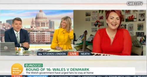 Kate Garraway amazed by Ben Shephard's confession over Welsh national anthem