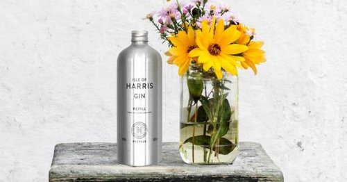 Isle of Harris Distillery launches gin refill scheme to top up stunning bottles