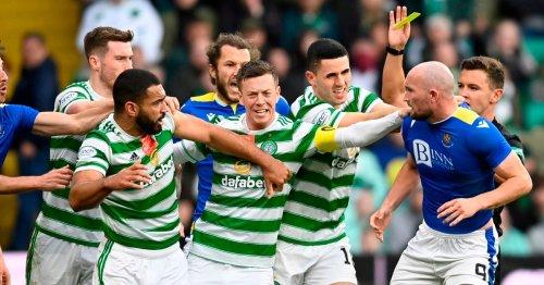 Cameron Carter Vickers strange Celtic booking explained after Chris Kane clash