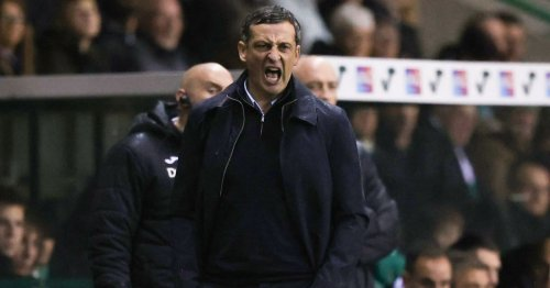 Jack Ross tells Hibs fans to blame him for Celtic loss