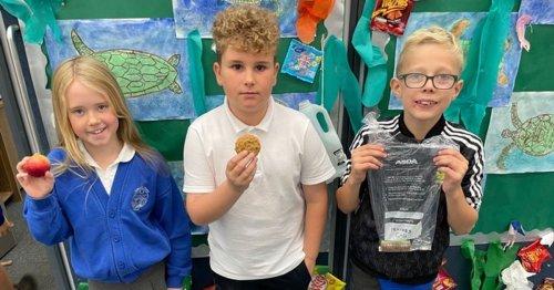 Primary pupils enjoy One Planit Picnic