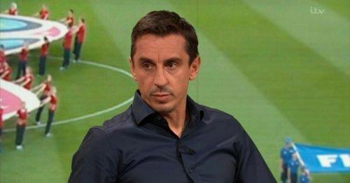 Sven Goran Eriksson says Gary Neville is a professional moaner