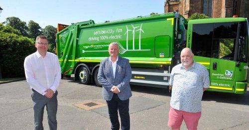 All-electric bin lorries arrive in region